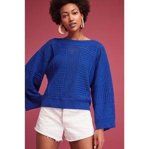 Anthropologie Moth Reese Kimono Sweater Sz M